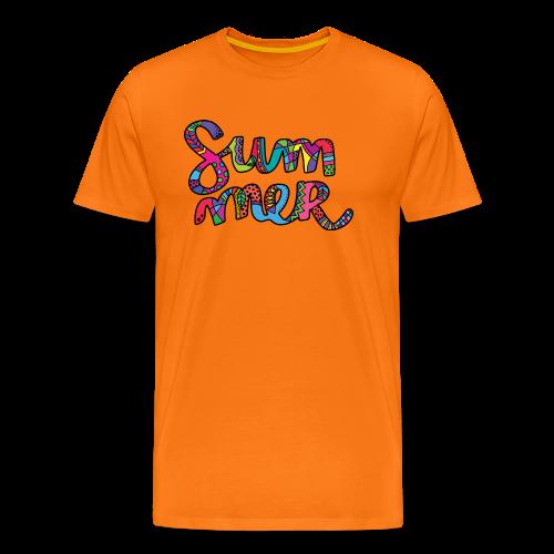 Colours of Summer - Men's Premium T-Shirt
