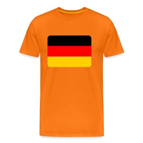 Deutschland Flagge, Deutschlandfahne, National - Männer Premium T-Shirt