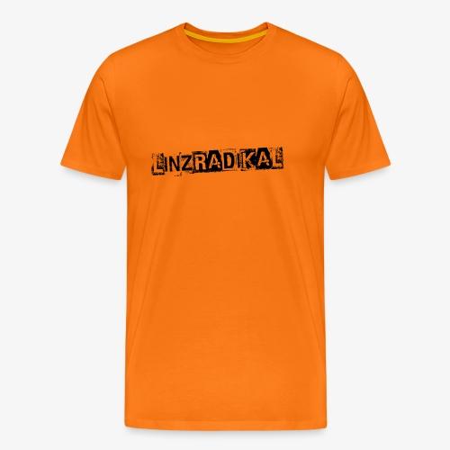 Linzradikal schwarz - Männer Premium T-Shirt
