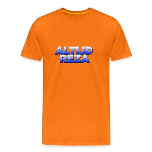 |AltijdReza teenager Short sleeve shirt 2 colors| - Mannen Premium T-shirt