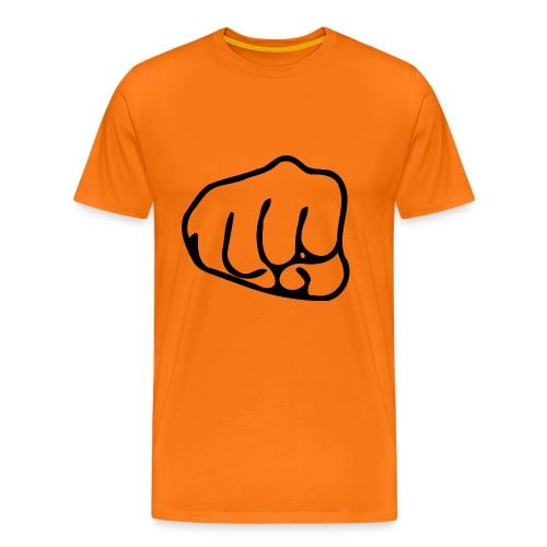Faustschlag - Männer Premium T-Shirt