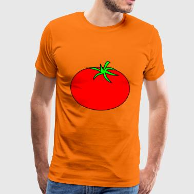 tomat - Premium T-skjorte for menn