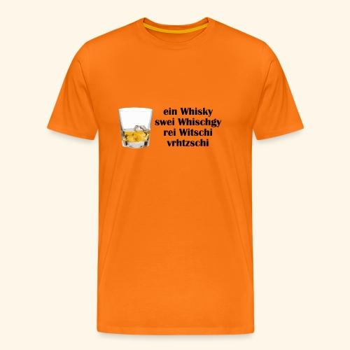 Whisky1 - Männer Premium T-Shirt