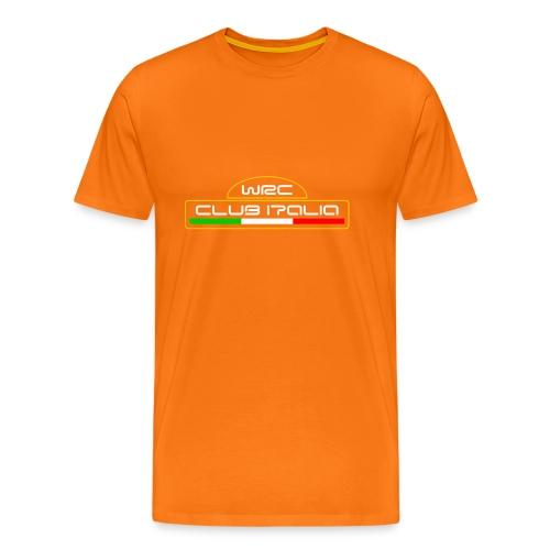 WRC CLUB ITALIA LOGO ANTERIORE - Maglietta Premium da uomo