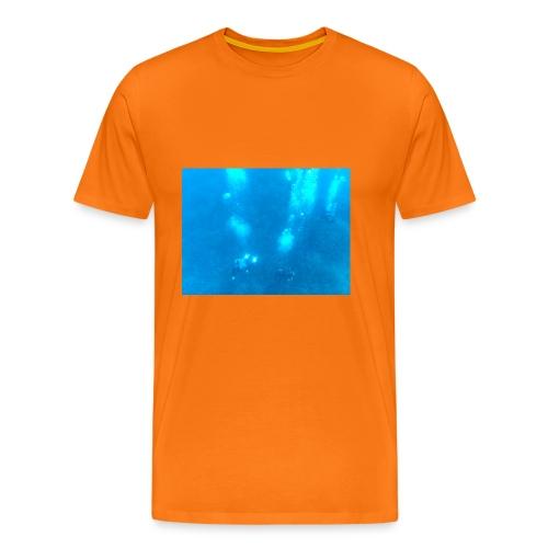 Taucher unter Wasser - Männer Premium T-Shirt