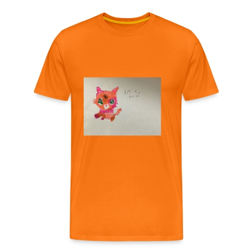 Little pet shop fox cat - Men's Premium T-Shirt
