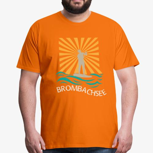 Stand Up Paddling am Brombachsee - Männer Premium T-Shirt