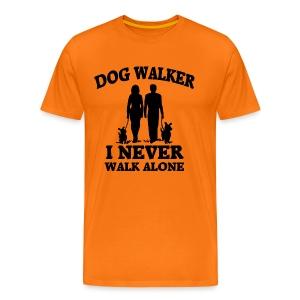Dog Walker - Männer Premium T-Shirt