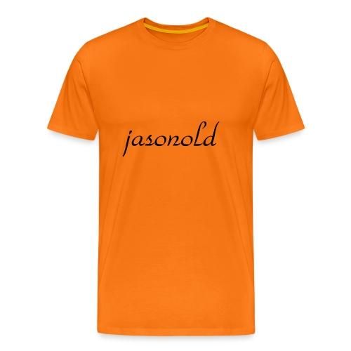 jasonold Schreibschrift - Männer Premium T-Shirt