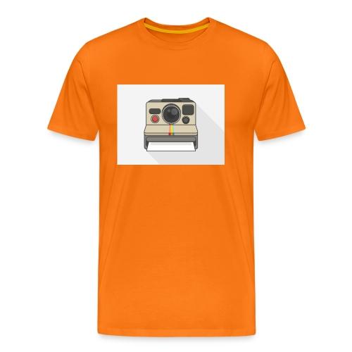 Polaroid Retro - Männer Premium T-Shirt