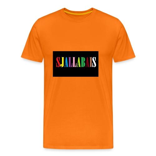 Sjallbais - Premium T-skjorte for menn