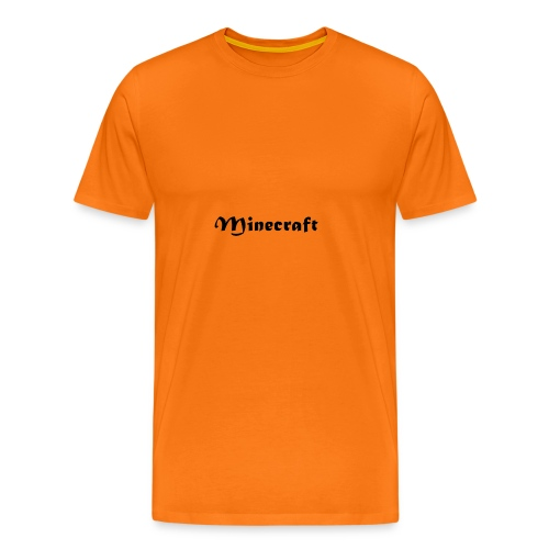 Minecraft - Camiseta premium hombre