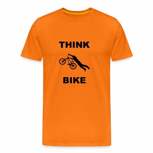 THINK BIKE - Men's Premium T-Shirt