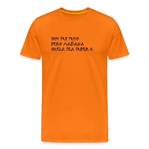 tuyo super 8 - Camiseta premium hombre