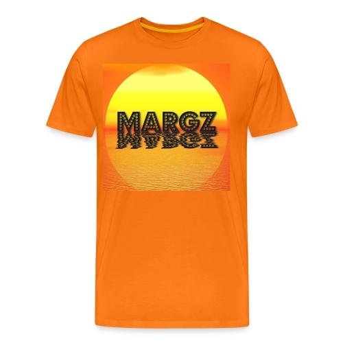 Sunset over Margz - Men's Premium T-Shirt