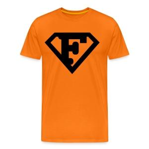 Firman Simply Black - Männer Premium T-Shirt