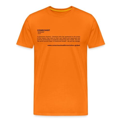 Conscivist Definition - Men's Premium T-Shirt