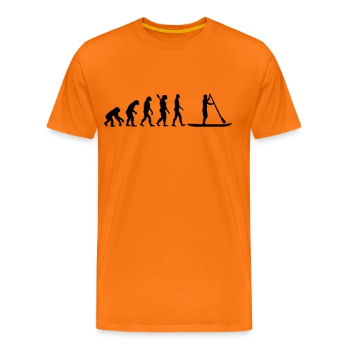 Stand up Evolution - Männer Premium T-Shirt