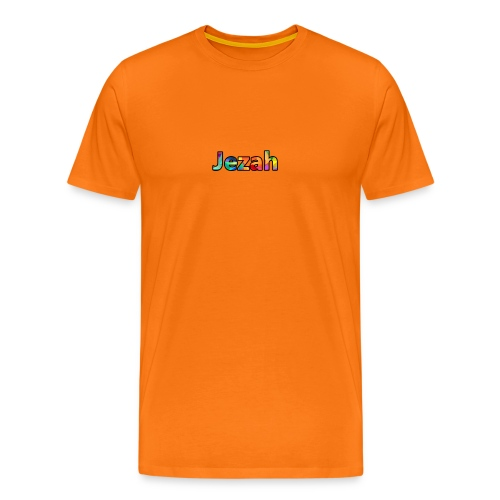 jezah merch text - Men's Premium T-Shirt