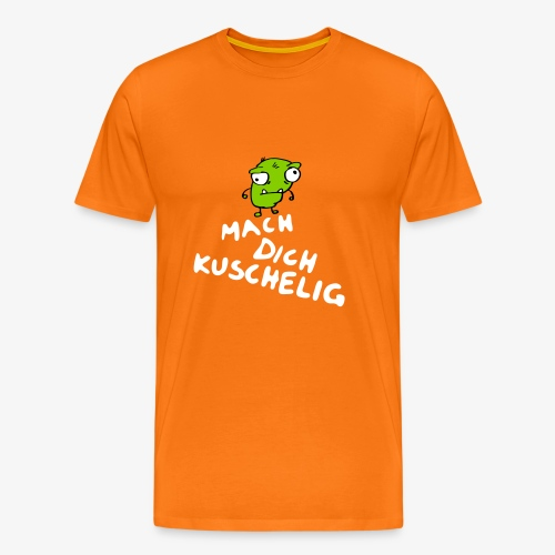 Mach Dich Kuschelig mit Marc-Daniel Kuczlynsky - Männer Premium T-Shirt