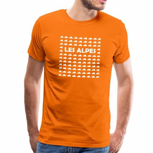 Les Alpes - T-shirt Premium Homme