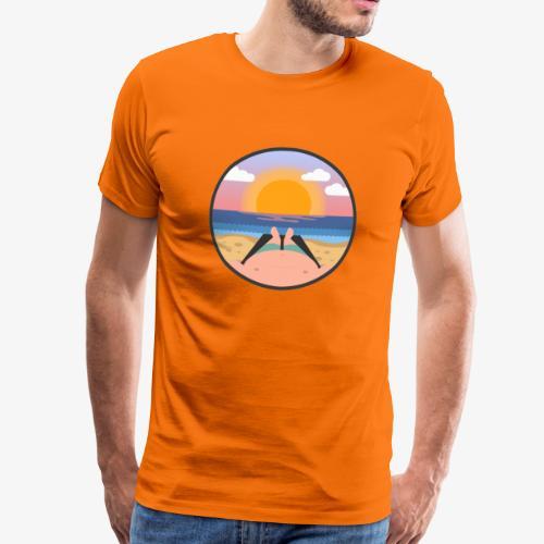 Sommerlaune - Männer Premium T-Shirt