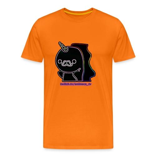 Einhornneon randlos - Männer Premium T-Shirt