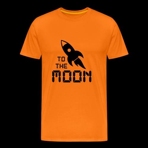 to the moon - Männer Premium T-Shirt