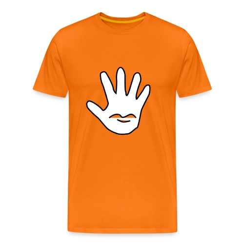 Talk to the Hand - Premium T-skjorte for menn