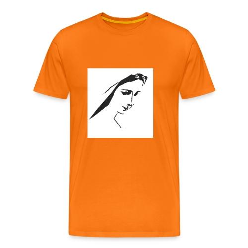 Reagina della Pace Medjugorje - Maglietta Premium da uomo