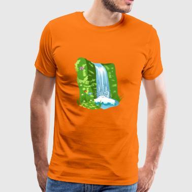 Cascade naturelle - T-shirt Premium Homme