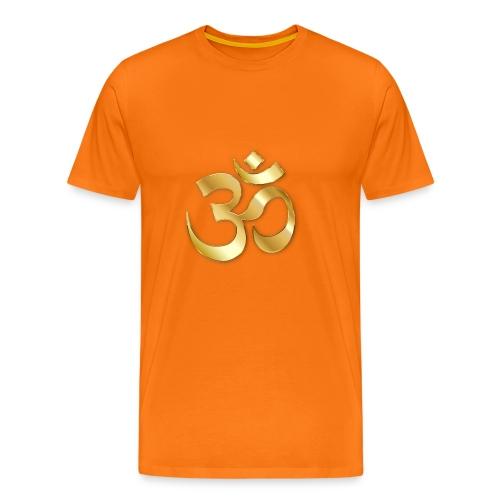 Om Gold - Männer Premium T-Shirt