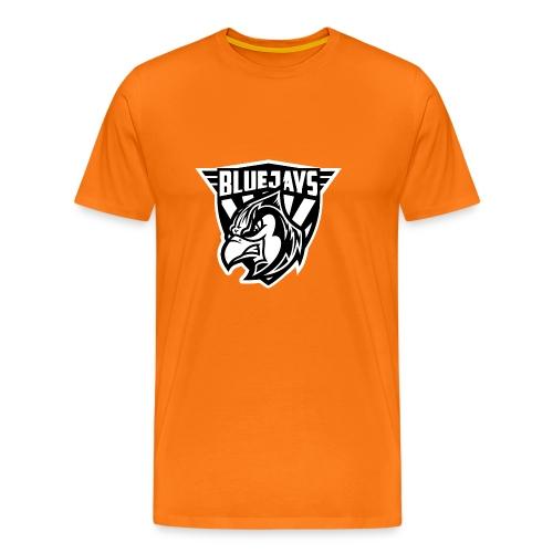 BLUEJAYS Logo schwarz / weiß - Männer Premium T-Shirt