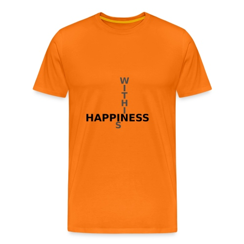 Happiness is Within - Men's Premium T-Shirt