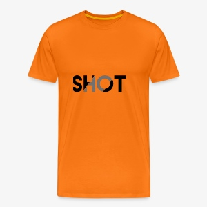 Shot contrast text - Men's Premium T-Shirt