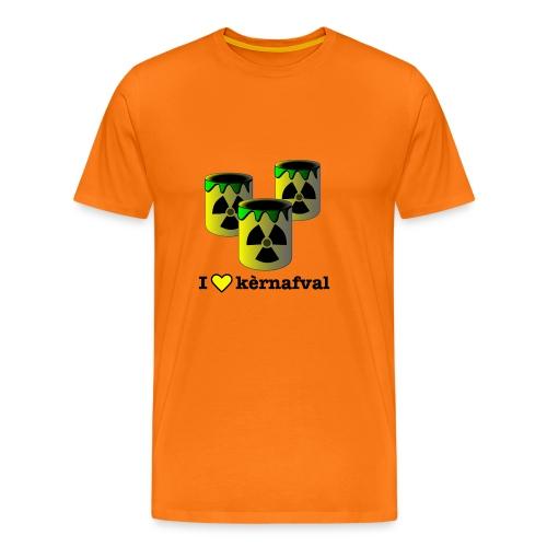 I love kèrneval (carnaval) - Mannen Premium T-shirt