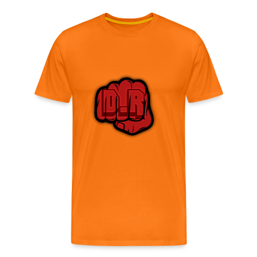 DigitalRelic Big Fist Logo - Premium-T-shirt herr
