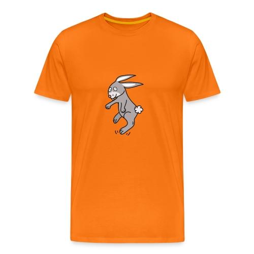 Funny Bunny Lustiges Häschen Comic Style - Männer Premium T-Shirt