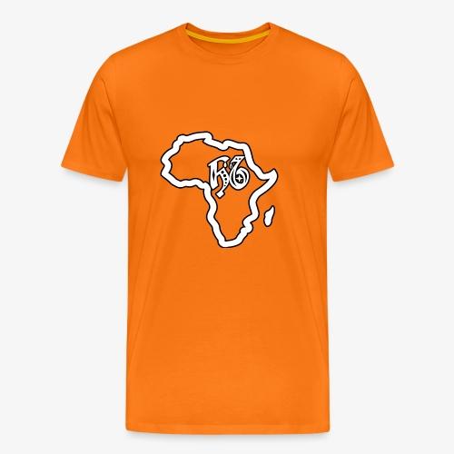 afrika pictogram - Mannen Premium T-shirt