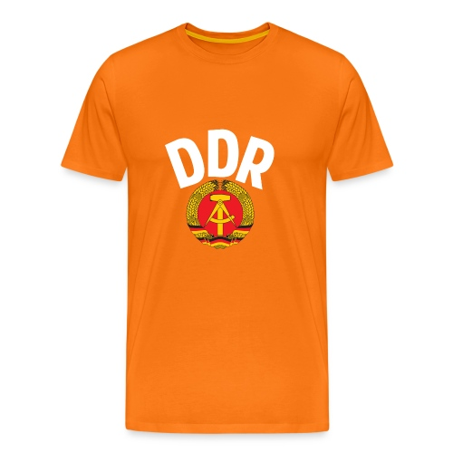 DDR - German Democratic Republic - Est Germany - Männer Premium T-Shirt
