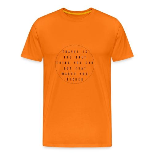 Travel - Mannen Premium T-shirt