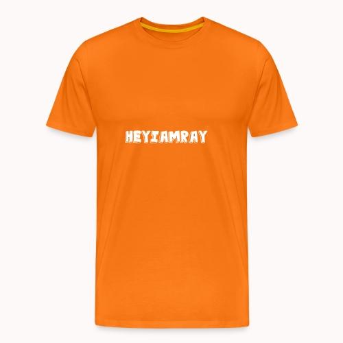 HeyIAmRay Merchandise - Mannen Premium T-shirt