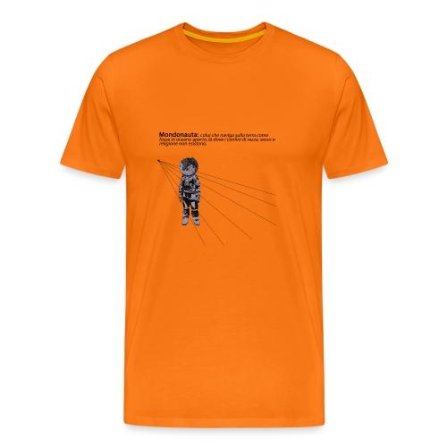 Mondonauta - Maglietta Premium da uomo