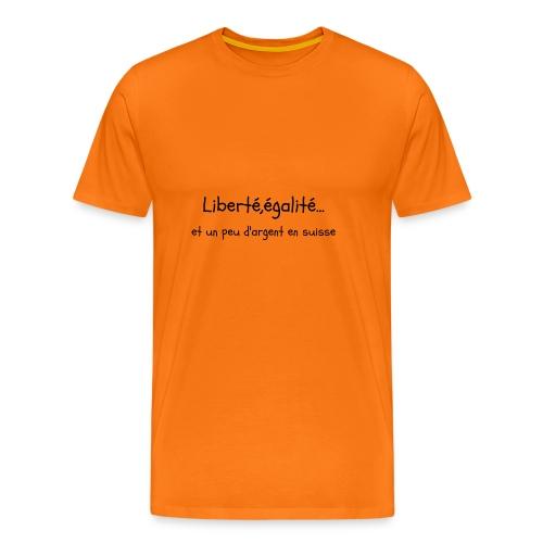 liberté,égalité... - T-shirt Premium Homme