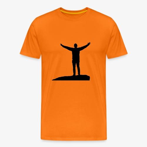 CONQUER - Herre premium T-shirt