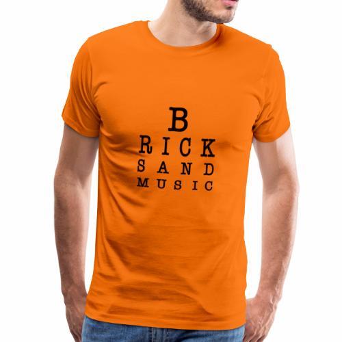 LETTERE OCU BLACK - Maglietta Premium da uomo