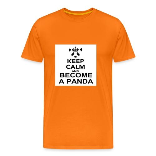 Vær En Panda - Herre premium T-shirt