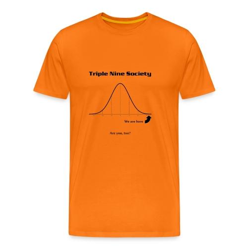 Gauss Black - Men's Premium T-Shirt