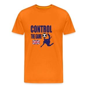 Control the game national Team England 2018 - Men's Premium T-Shirt