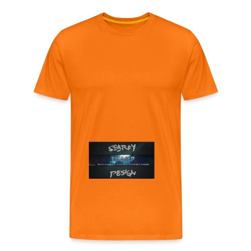 Scarfy Design ELIASLP - Männer Premium T-Shirt